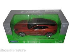 WELLY 2015 JAGUAR F-TYPE ORANGE 1/24 DIECAST MODEL CAR  24060OR