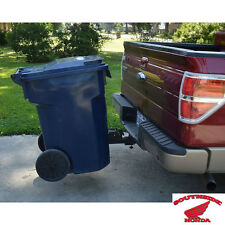 "TOTE CADDY TRASH CAN TRANSPORTER UNIVERSAL USE WITH 2"" TRAILER HITCH RECEIVER"