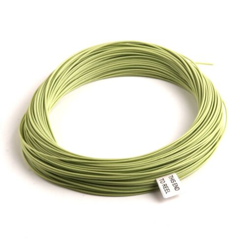 Fly Fishing Premier Quality DT4 Floating Line Double Taper Moss Green UK