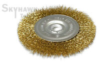"""4-1/2"""" X 5/8 Arbor Wire Wheel Brush For Angle Grinder"""