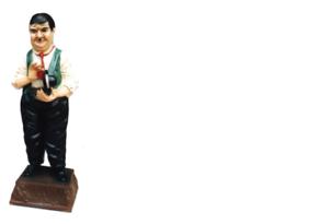 Diseño Flip i Solapa Pintor Figura Estatua Escultura Decoración 5331b