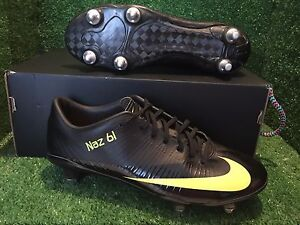 BN-NIKE-MERCURIAL-VAPOR-V-SG-SUPERFLY-Black-Yellow-Size-7-5-6-5