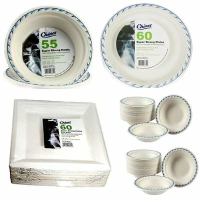 Bowls Super Strong High Quality Chinet Disposable Party Wedding Plates
