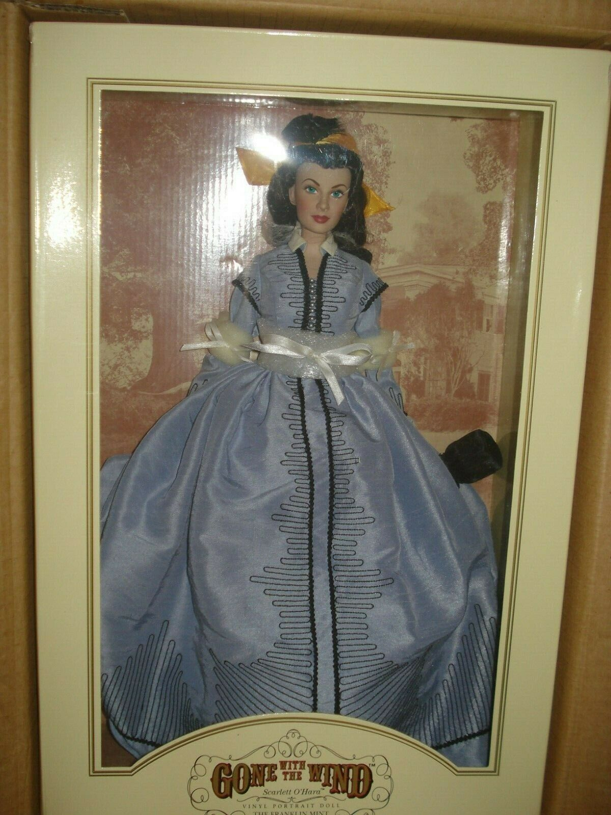 Franklin Mint Scarlett O'Hara portrait vinyl doll Shanty Town