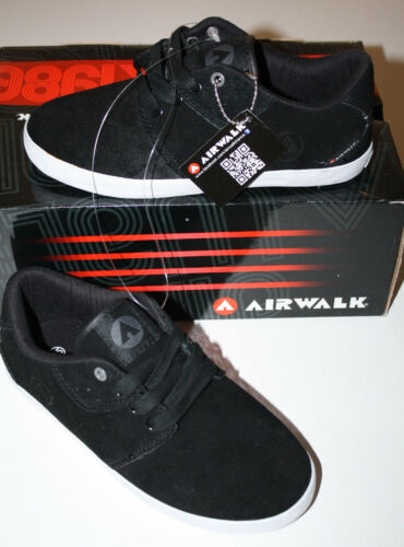 AIRWALK Bowl CCR Black Sneaker Skater Turnschuhe 311250-418 Gr 36 35 NEU