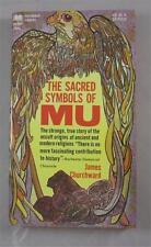 SACRED SYMBOLS OF MU JAMES CHURCHWARD 1968 PAPERBACK LIBRARY #54-663 1ST ED PB