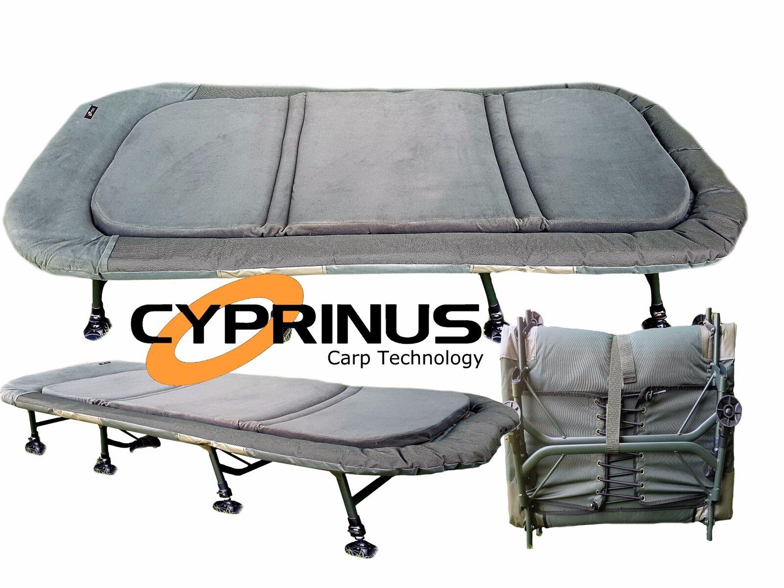 Cyprinus ™ mousse à mémoire de jambe 8 Extra grand Bedchair Pêche à La voiturepe Lit Chaise