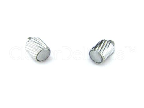 Spiral Style 20 Magnetic Clasp Converters Jewelry Shiny Silver Color