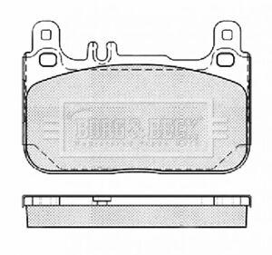 Borg-amp-Beck-Disc-Brake-Pad-Set-Pads-BBP2461-GENUINE-5-YEAR-WARRANTY