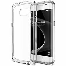 VRS Design Crystal Mixx Slim Clear Bumper Case for Samsung Galaxy S7 Edge