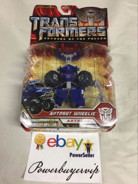 NEW Hasbro Autobot Wheelie Transformers Movie 2 Rotf 2009 Action Figure 2DAY GET