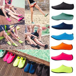 36108ed98f1 Men Women Water Shoes Barefoot Aqua Socks Quick-Dry Beach Swim ...