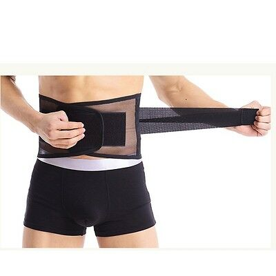 Lydiony Lumbar Lower Back Waist Support Brace Pain Relief Trimmer