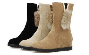 Botines botas moda mujer talón 3 cm como piel cómodo caldi 9002