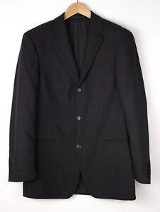HUGO BOSS Herren Einstein Wolle Formelle Jacke Blazer Größe 94 ARZ386