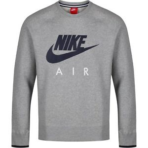 12f35ea55c76 Image is loading NIKE-AIR-AW77-HERITAGE-FLEECE-TRACKSUIT-TOP-GREY-