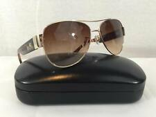 Authentic COACH Aviator OLIVIA Gold Tortoise L952 Brown Gradient Sunglass $229
