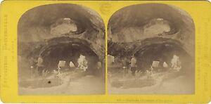 Grotte-Da-L-Acquario-Esposizione-Universale-Parigi-1867-Stereo-Vintage-Albumina