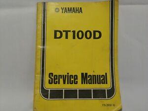 Original-1976-Yamaha-Service-Shop-Manual-DT100D-Motorcycle-NICE-BAR3
