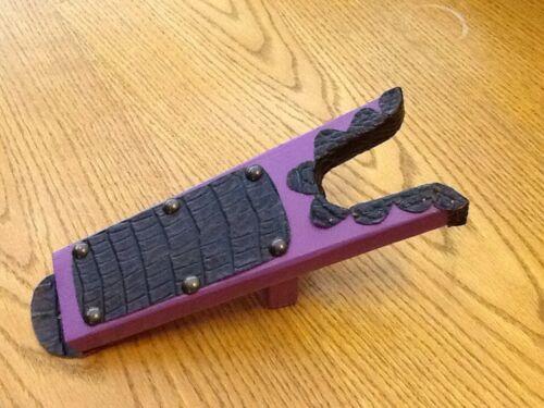 JUNIOR JACK Deluxe Wood **Boot Jack**Boot Puller**Shoe Remover Croc Purple
