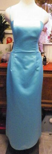 Jessica McClintock Gunne Sax blue satin formal ev… - image 1