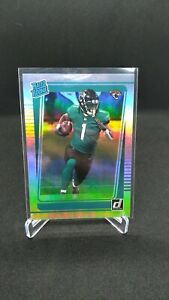 *ERROR CARD* 2021 Donruss Travis Etienne Jr. Rated Rookie RC #258 Silver holo*