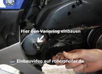 Mofadrossel Peugeot Speedfight III 3 Ersatz Distanzring u. Vergaserdrossel Mofa