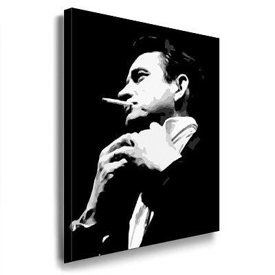 Leinwandbilder ORG Johnny Cash Bild auf Leinwand Druck, Kunstdrucke Deko Bilder
