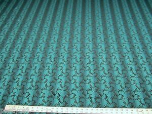 8 3/8 yards of peacock blue stripe upholstery fabric r1404