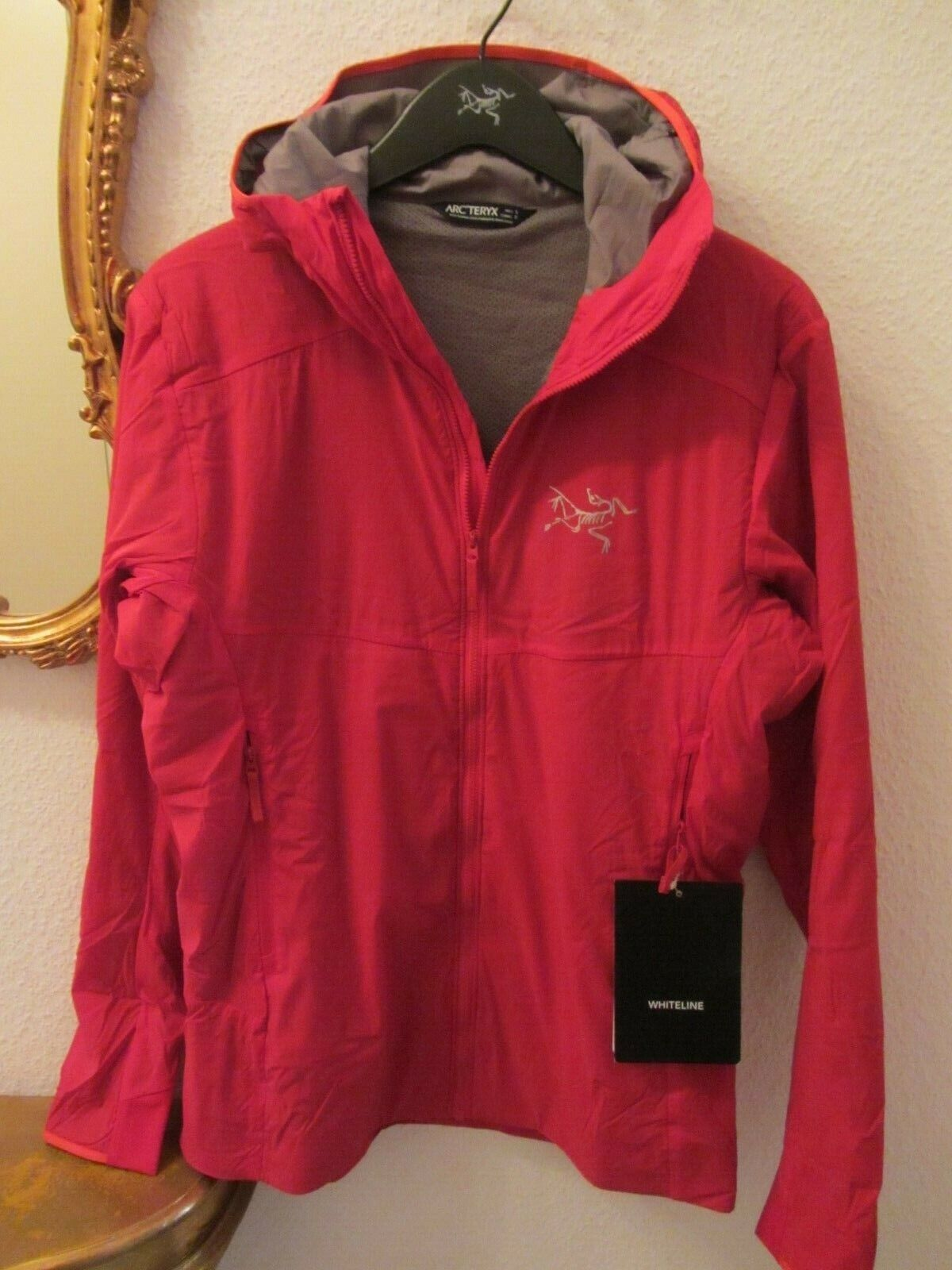 ARC'TERYX Ryze Hoody Woman Hard Coral Outdoor L 42-44   PHÄNOMENAL     3664