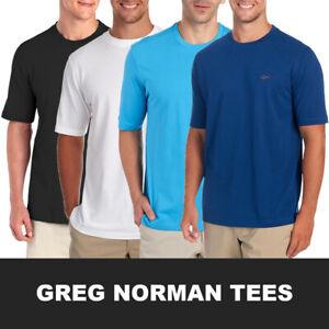 Greg-Norman-Men-039-s-Classic-Crewneck-S-S-Tee