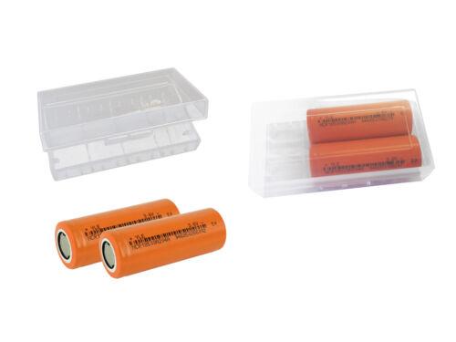 boxeo de retención 2x 18500 NCR 3.6v 2040mah baterías incl