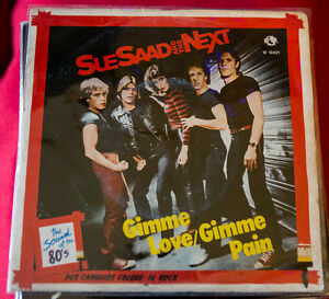 "Sue Saad And The Next ‎– Gimme Love / Gimme Pain 7"" 45 giri vinyl new wave pop - Italia - Sue Saad And The Next ‎– Gimme Love / Gimme Pain 7"" 45 giri vinyl new wave pop - Italia"