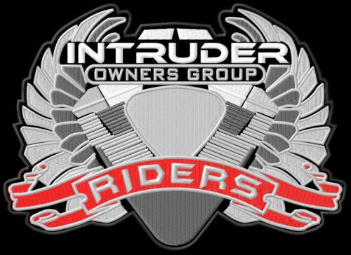 Intruder  Riders XL PATCH Aufnäher suzuki Parche brodé patche toppa owner M1800R