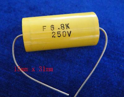 2* Capacitor 250V 106J .HIF  Axial Type
