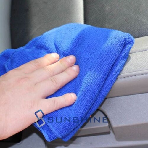 Lot Pack Microfiber Cleaning Cloth Towel No-Scratch Rag Car Polishing Detailing