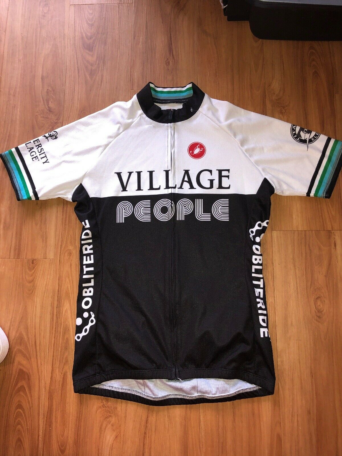 Castelli Village People Cycling Jersey Womens Large Obliteride