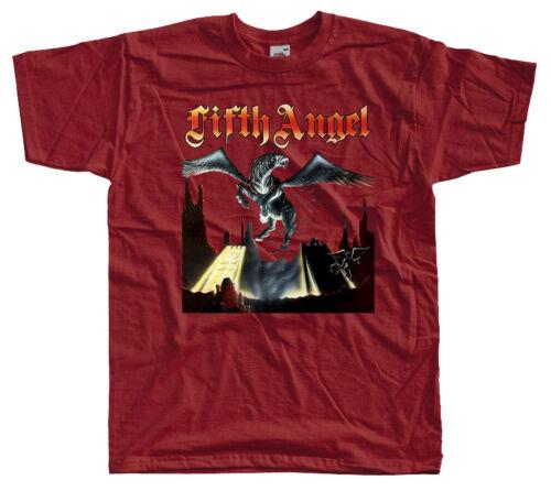 Fifth Angel-cinquième ange 1986 T-Shirt Tailles S-5XL 100/% Coton Noir Brique