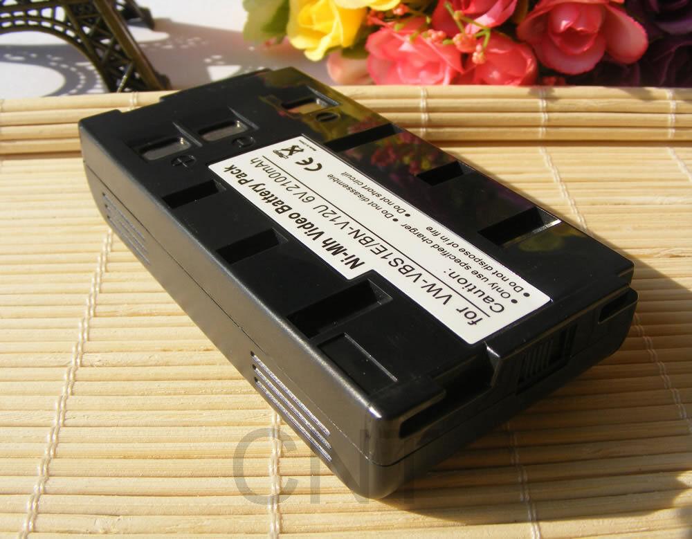 Camcorder Battery pack For JVC BN-V10U BN-V20U BN-V22U BN-V400U FB-120 FB-1260