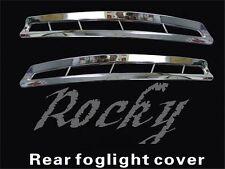 2011 2012 2013 KIA K5 Optima For 2pcs Chrome Rear Fog Light Trim Lamp Cover