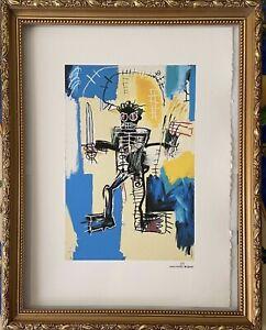 Jean-Michel-Basquiat-Lithographie-Signee-Et-Numerote