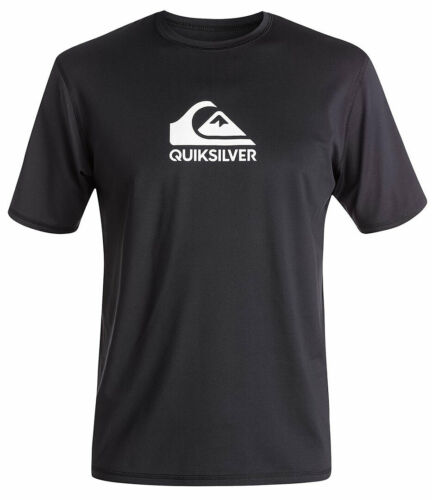 Wassersport Shirt Lycra QUIKSILVER SOLID STREAK Surf Shirt Lycra 2019 black