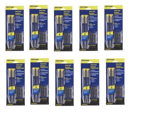 10 pack Swanson Tool CP216 AlwaysSharp Refillable Carpenter Pencil