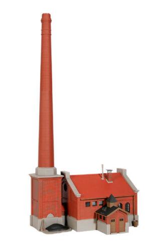 Kibri H0 39821 sala de calderas con chimenea