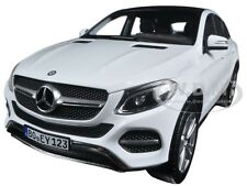2015 MERCEDES GLE CLASS COUPE WHITE 1/18 DIECAST MODEL CAR BY NOREV 183460