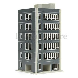 Outland-Models-Railway-Modern-1-100-N-Scale-6-Story-Painted-Residential-Building