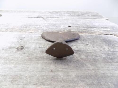 25 Cast Iron Whale Tail Hooks Coat Hat Closet Hall Tree Jacket Tale Rustic Hat