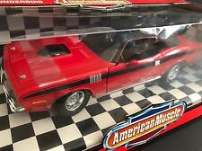 1971 Plymouth Cuda 1/18 Ertl Red Barracuda B-Cap Buchanan