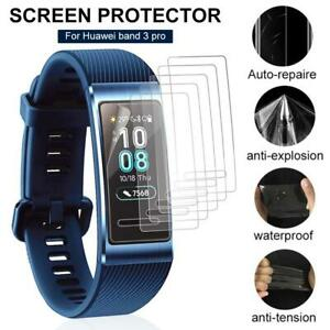 3PCS-Screen-Protector-HD-Scratch-resistant-For-Huawei-Band-3-Pro-Smart-Watch