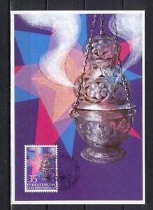 Maxi Card A77 Liechtenstein 1985 Christmas